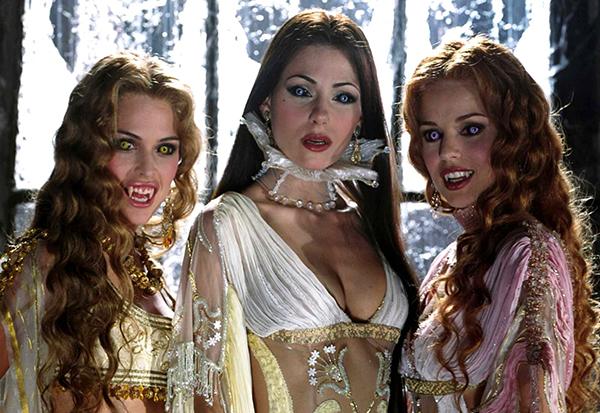 вампирши в кино, фильмы о вампирах