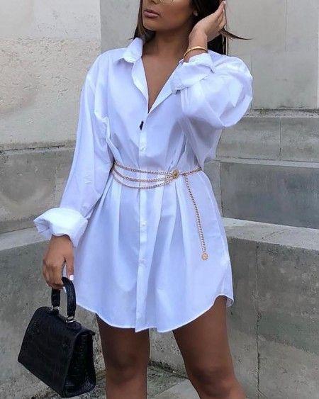 Фото №4 - Вопрос дня: как носить оверсайз платье