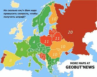 Фото №3 - Карта: Количество смертей на дорогах в год. Угадай, кто лидер в Европе и в мире?