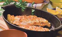 Запеченная рыба с рисом