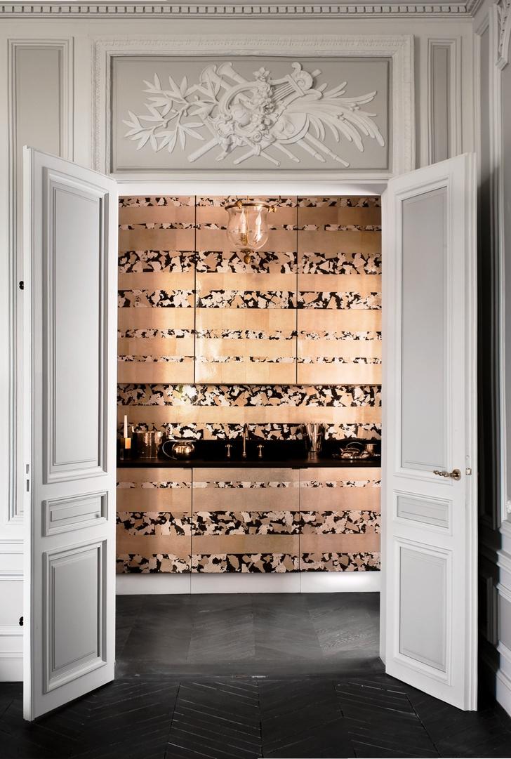 Фото №5 - Полночь в Париже: квартира по проекту Жан-Луи Деньо