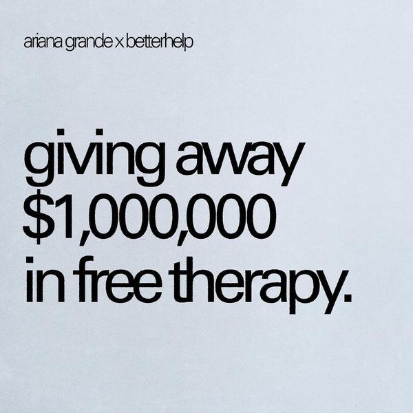 Фото №2 - Ариана Гранде дарит поклонникам бесплатную психологическую помощь💛