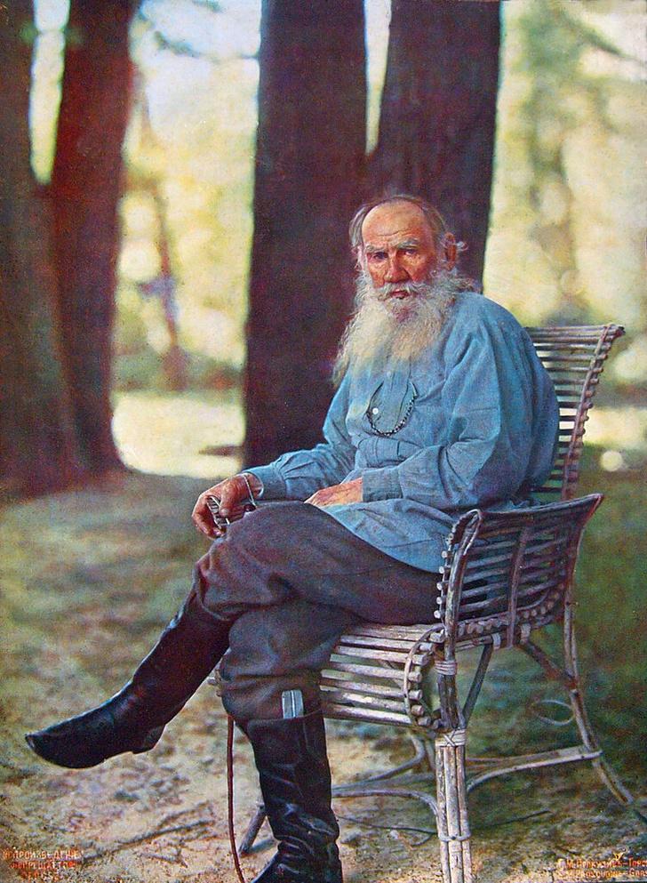 Фото №1 - Редкая звуковая запись: Лев Толстой говорит на четырех языках