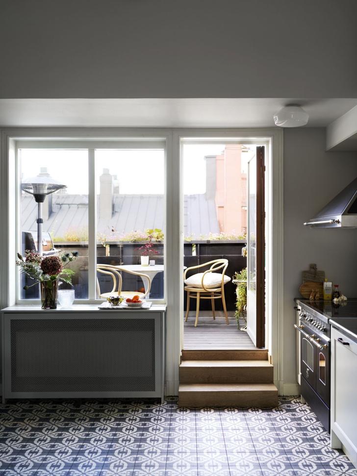 Фото №4 - Квартира в мансарде 140 м² в Стокгольме