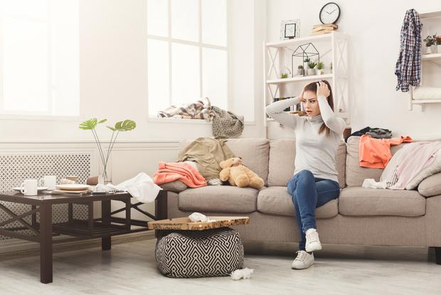 Как навести порядок в квартире если очень много вещей