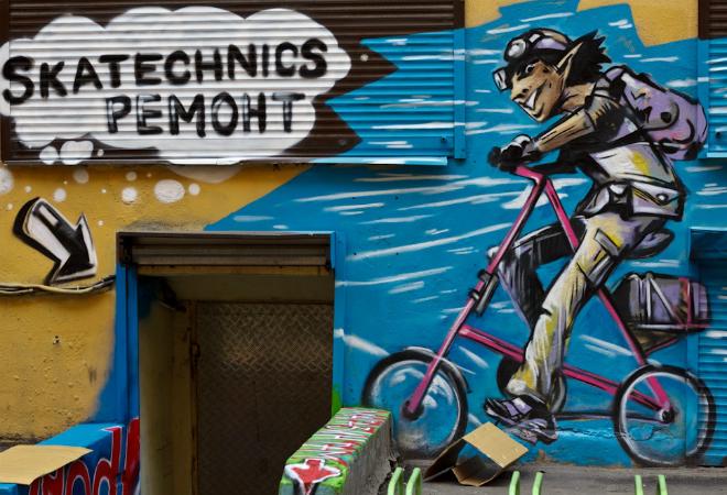 В «Скатпрокат» есть своя мастерская по ремонту велосипедов