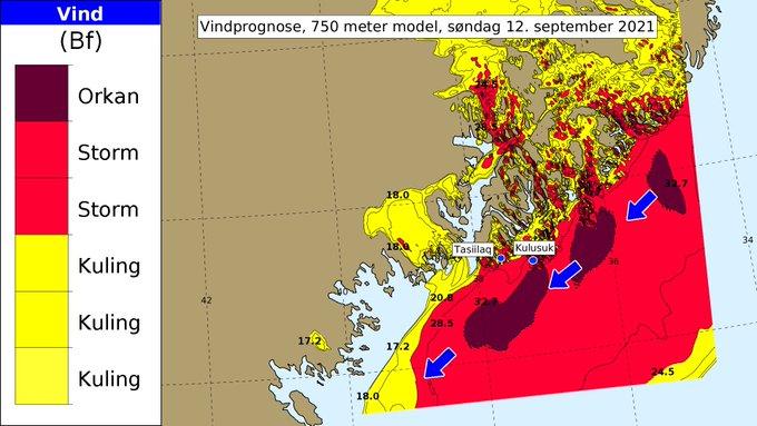 Фото №1 - Погодные аномалии в Гренландии вызывают тревогу климатологов