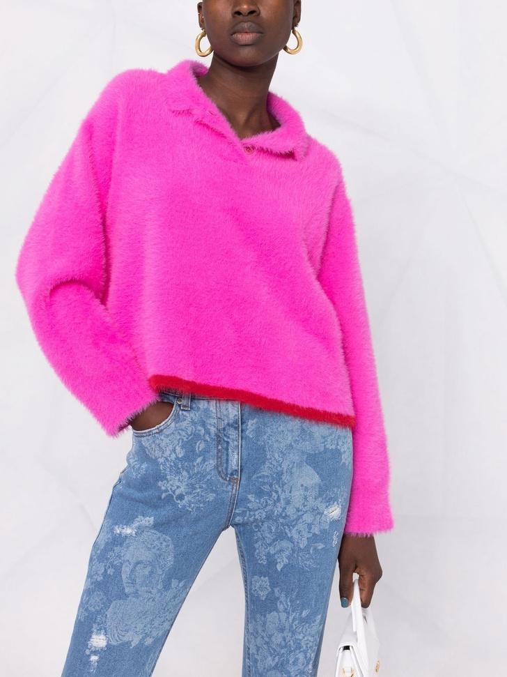 Фото №5 - 12 ярких свитеров, которые сделают вашу осень уютной