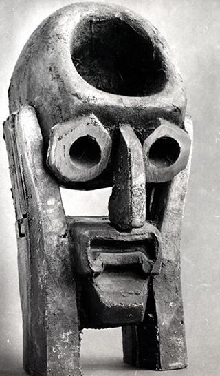 Голова ученого, из цикла Головы современников, 1965 г.