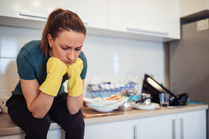 Why most of the household chores still lie with women