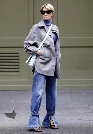 Фото №6 - Было ваше, стало наше: как и с чем носить джинсы-бойфренды