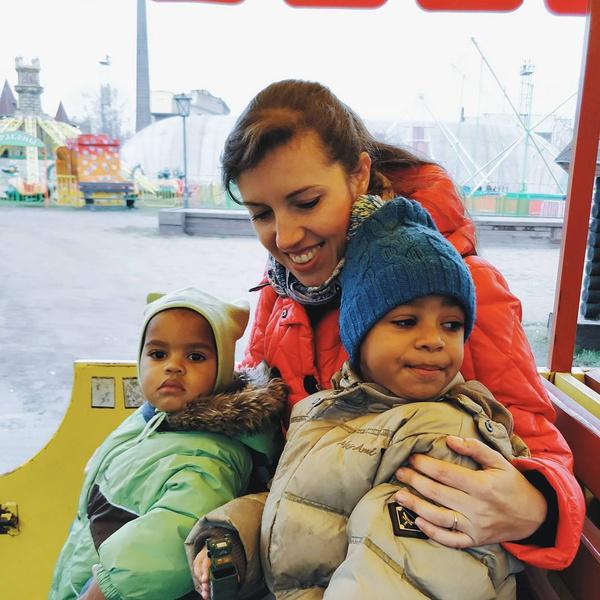 Фото №3 - Россиянка решила растить детей в Африке, и вот что из этого вышло
