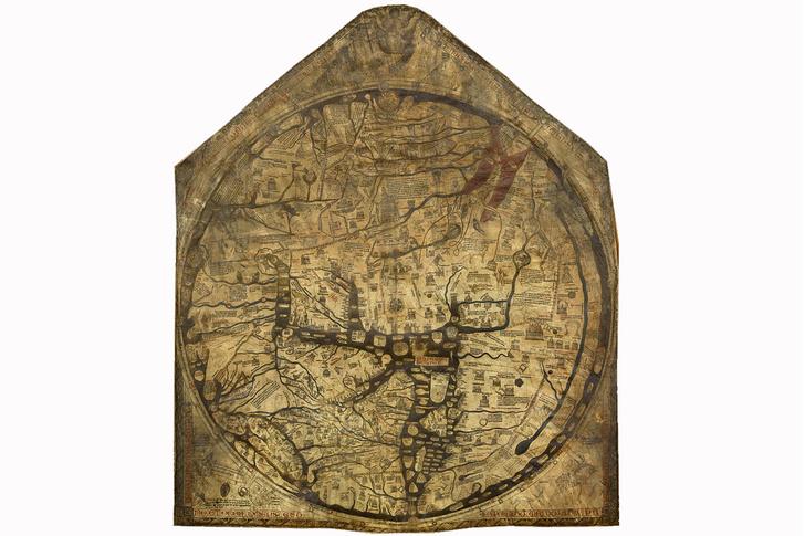 Фото №8 - Мир вверх тормашками: непривычно выглядящие географические карты