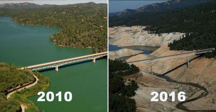 Фото №7 - 10 пейзажей, которые неузнаваемо изменило время
