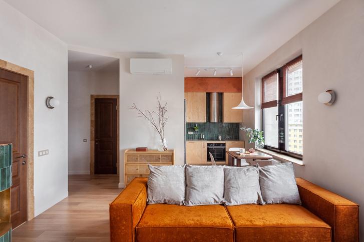 Фото №1 - Квартира в скандинавском стиле с печью