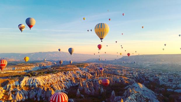 Каппадокия воздушные шары фото