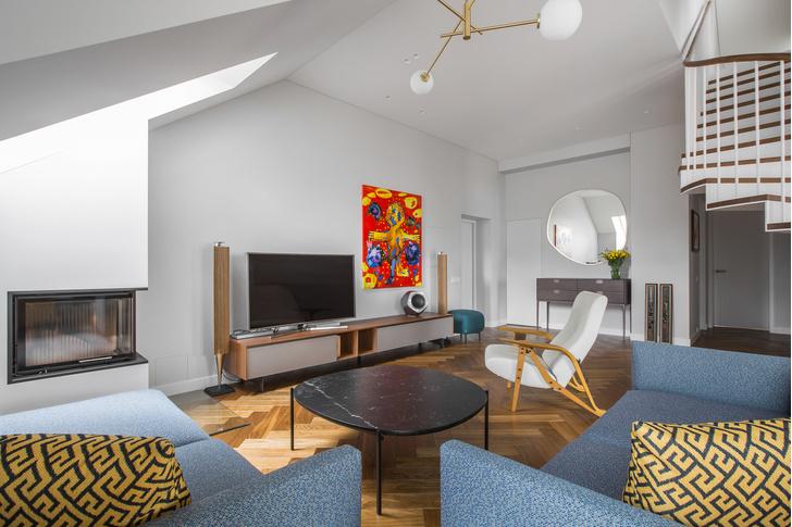 Фото №2 - Двухуровневая квартира в Вильнюсе