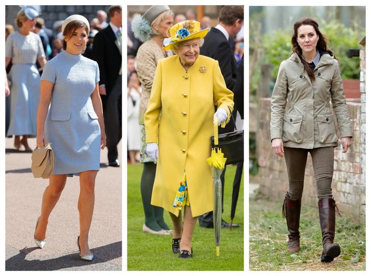 Фото №1 - От Елизаветы II до герцогини Кейт: любимые обувные бренды королевские особ