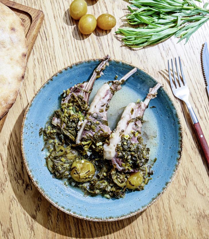 Фото №1 - Агнец и виноград: чакапули— рецепт баранины с ткемали