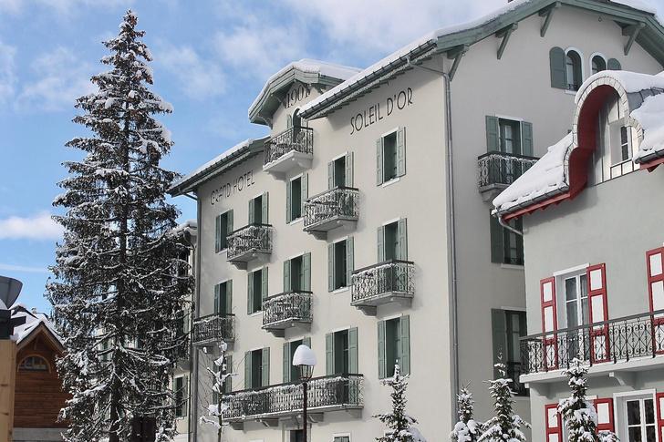 Фото №1 - Отель Grand Hôtel du Soleil d'Or: жемчужина Межева