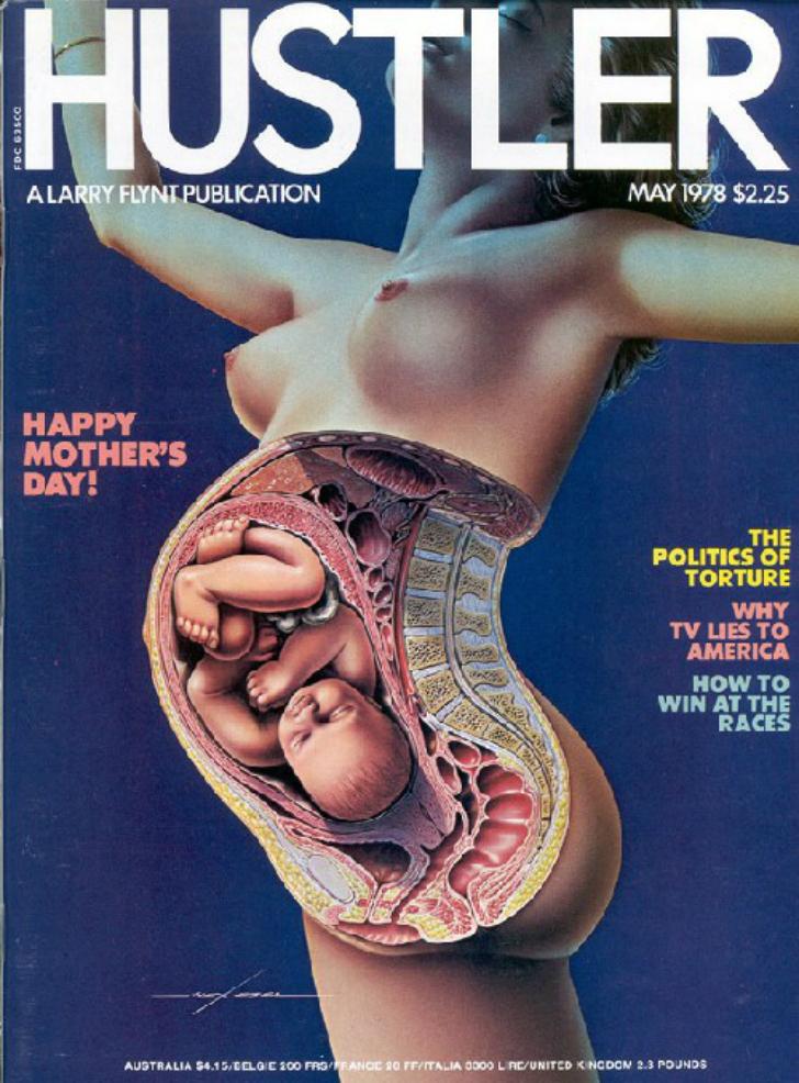 Фото №3 - Умер издатель Hustler Ларри Флинт. Вспоминаем лучшие обложки скандального журнала