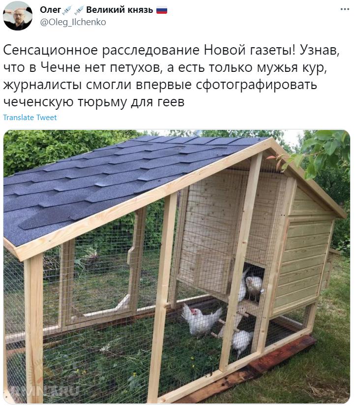 Фото №4 - Лучшие шутки про Рамзана Кадырова, который объявил, что в Чечне нет петухов