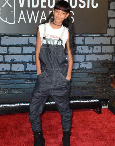 Уиллоу Смит (Willow Smith) на MTV VMA 2013