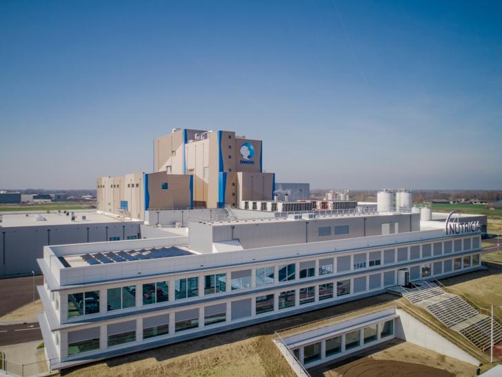 Новый завод Nutricia в Кёйке (Нидерланды)