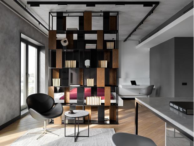 Фото №1 - Апартаменты в стиле минимализм на Маяковской