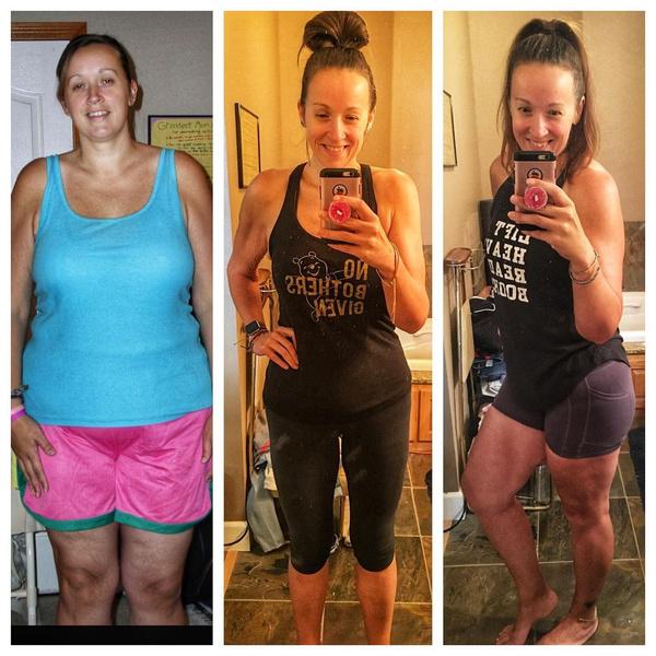 Фото №6 - Женщина сбросила 60 кило после 9-х родов: фото до и после