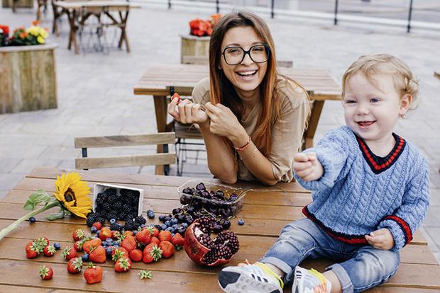 Фото №1 - Инстамама Евгения Кривцова рассказывает о своей семье