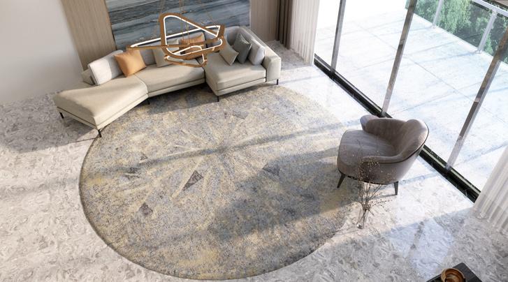 Фото №3 - Коллекция ковров Strati по дизайну Майка Шилова для Sahrai