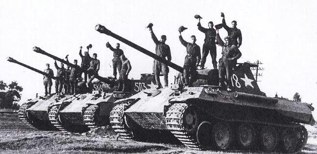 Фото №12 - Что немцу хорошо, то и Красной армии подойдет— танки вермахта с красными звездами