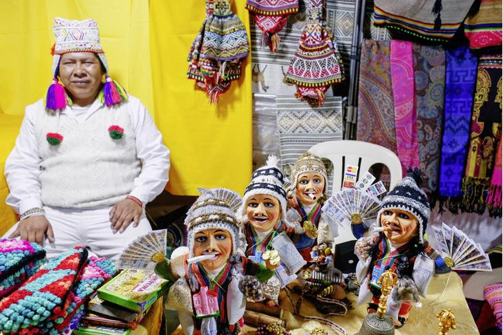 Фото №1 - Ярмарка мечты: зачем покупать талисман на будущее в Боливии