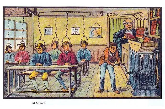 Фото №6 - Как люди изображали наше время сто лет назад