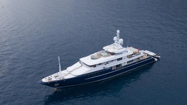 Яхта, роскошь, интерьер, суперяхта, судно triple-seven