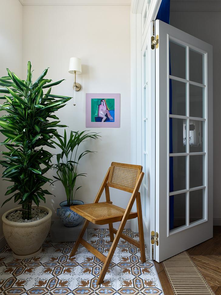 Фото №6 - Трехкомнатная квартира в оттенках синего цвета