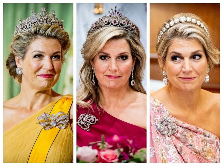 Фото №1 - Самые роскошные и любимые тиары королевы Максимы