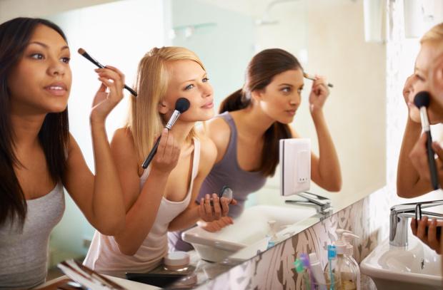 как уменьшить щеки с помощью макияжа и прически сделать лицо худым подчеркнуть нарисовать скулы