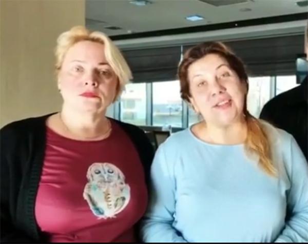 Фото №1 - Смешные соседки: Пермякова и Федункив показали себя без макияжа