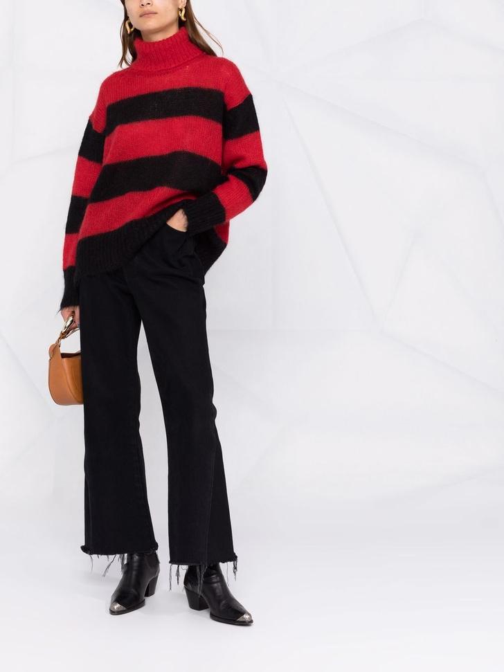 Фото №10 - Полосатый свитер— модное спасение от осенней хандры. И вот 10 классных вариантов на каждый день