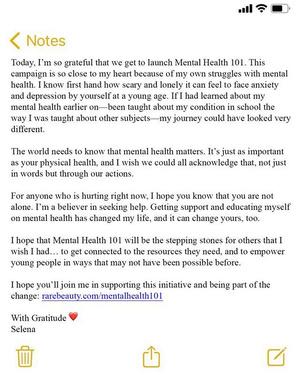 Фото №2 - Селена Гомес поможет бороться с ментальными проблемами 👍