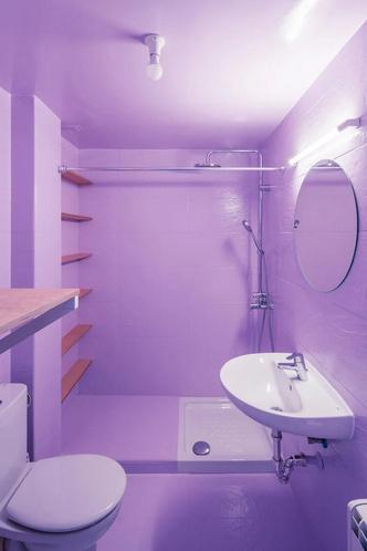 Фото №3 - Симфония цвета: маленькая многофункциональная квартира в Мадриде