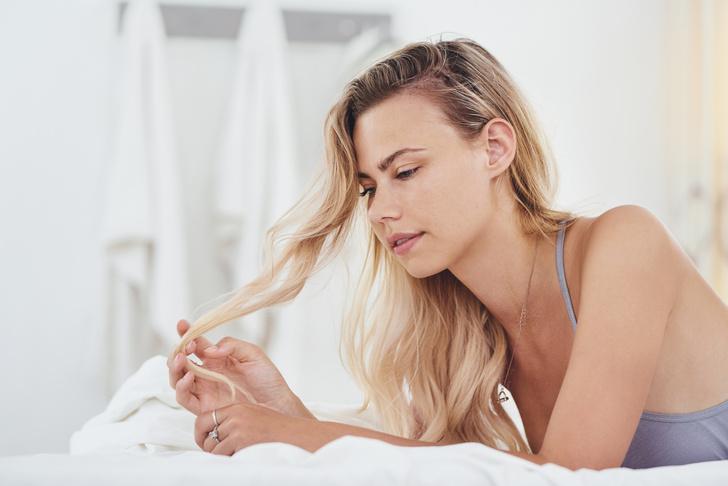 Фото №4 - Лечение секущихся волос. Маски, диета, режим