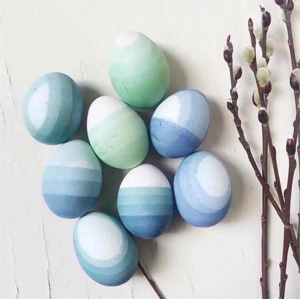 Фото №12 - Как прикольно покрасить яйца на Пасху: 15 креативных идей 🥚 🐇