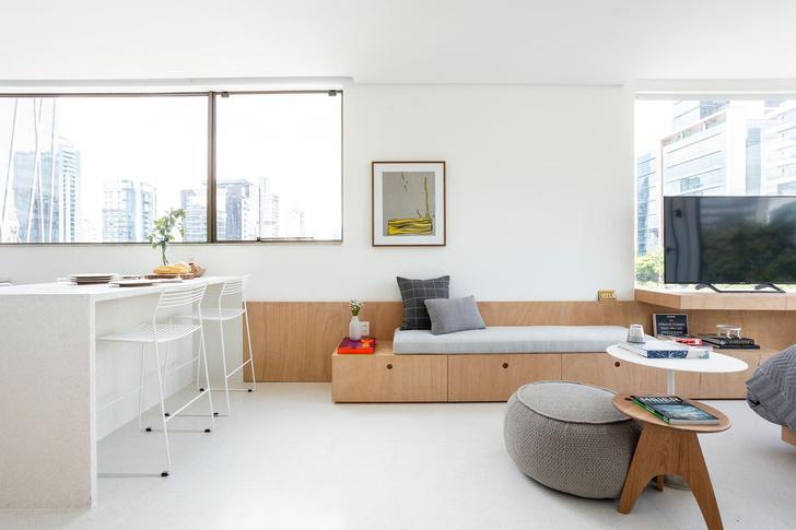 Фото №5 - Светлая квартира 37 м² в Сан-Паулу