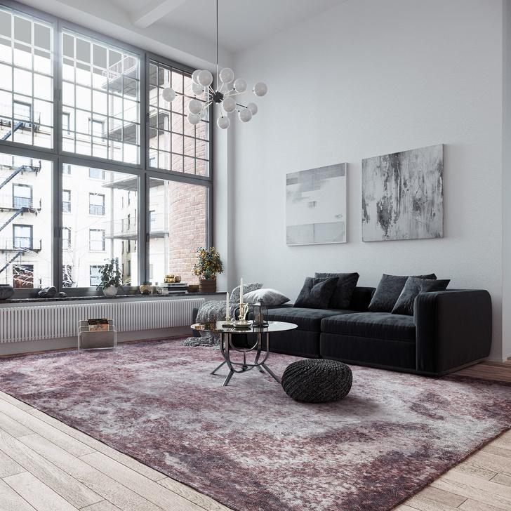 Фото №7 - Коллекция ковров Strati по дизайну Майка Шилова для Sahrai