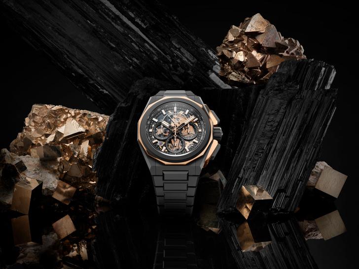 Фото №1 - Для отчаянных экстремалов: часы Zenith, с которыми не страшна глубина