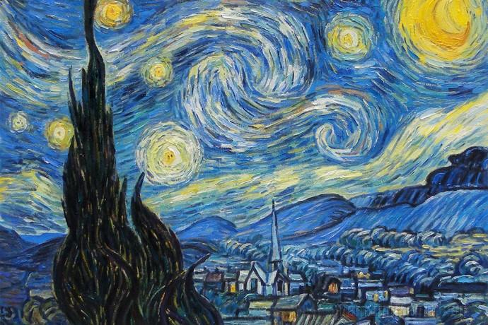 «Звездная ночь» Винсента Ван Гога: о чем говорит мне эта картина?