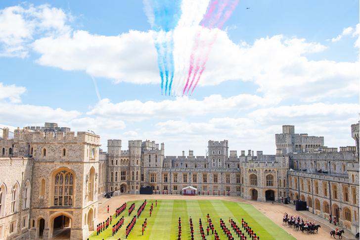 Фото №5 - Trooping The Colour 2021: как Королева отпраздновала свой официальный день рождения